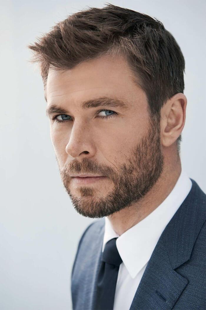 la barba corta ? estilo