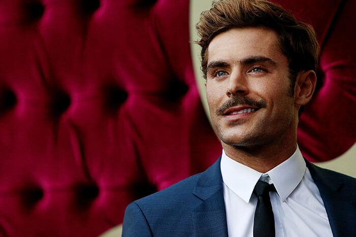 bigote largo con barba corta